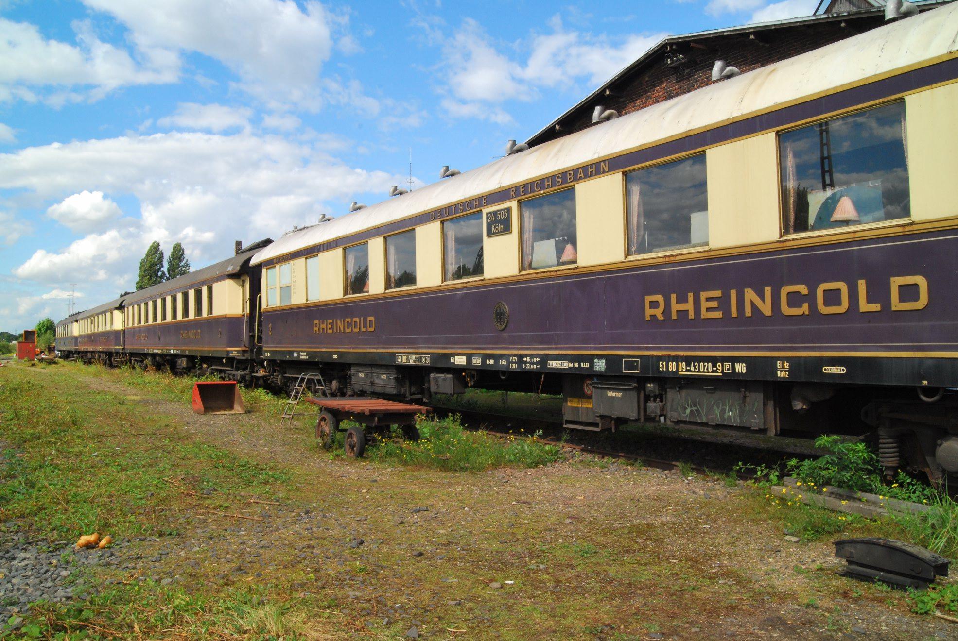Rheingold Zug Bilder